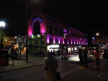 Camden Lock market centre