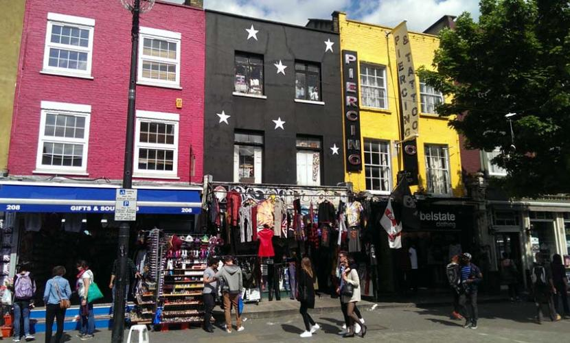 Walking Camden High street is free