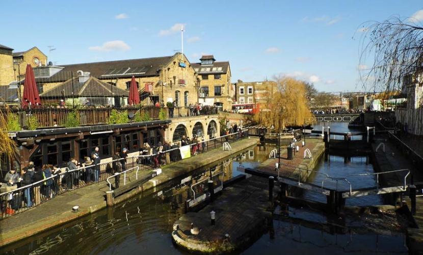 Camden Lock side
