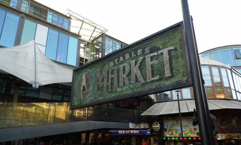 Stables Market is a great attraction