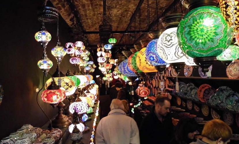 Stables Market shopping stalls