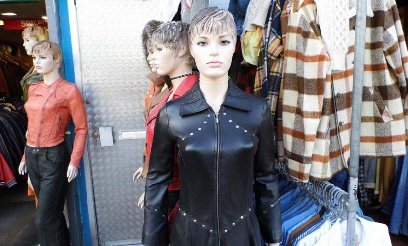 Leather fashion Camden HIgh Street