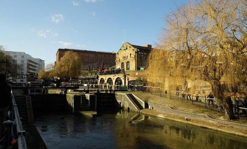Camden Lock is free and a great place to visit
