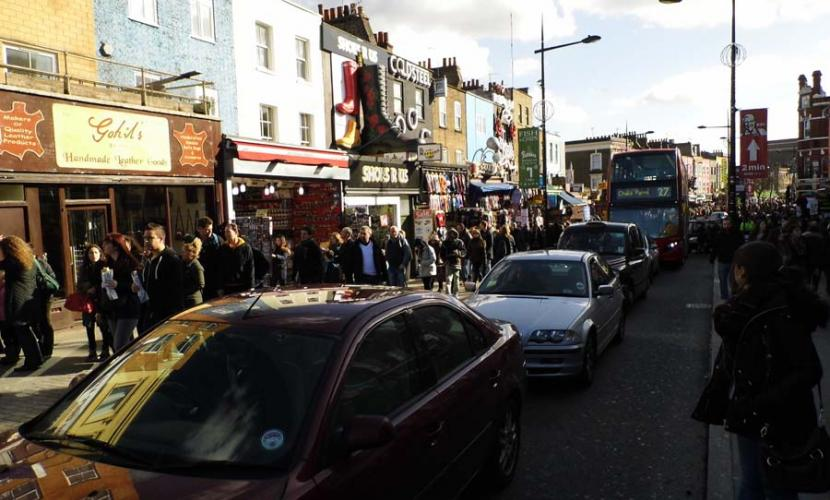 Camden High street is admission free