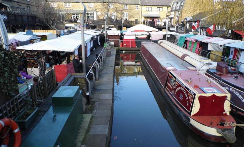 Market boat trips from Camden Lock