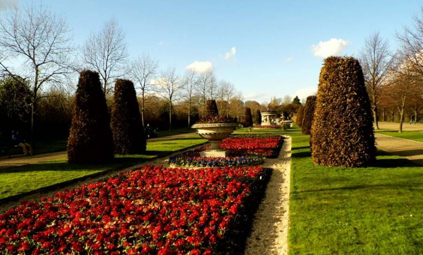 Regent's Park gardens are a great place to visit