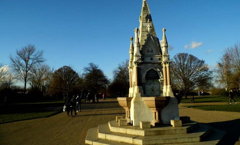 Regent's Park is a great tourist attraction