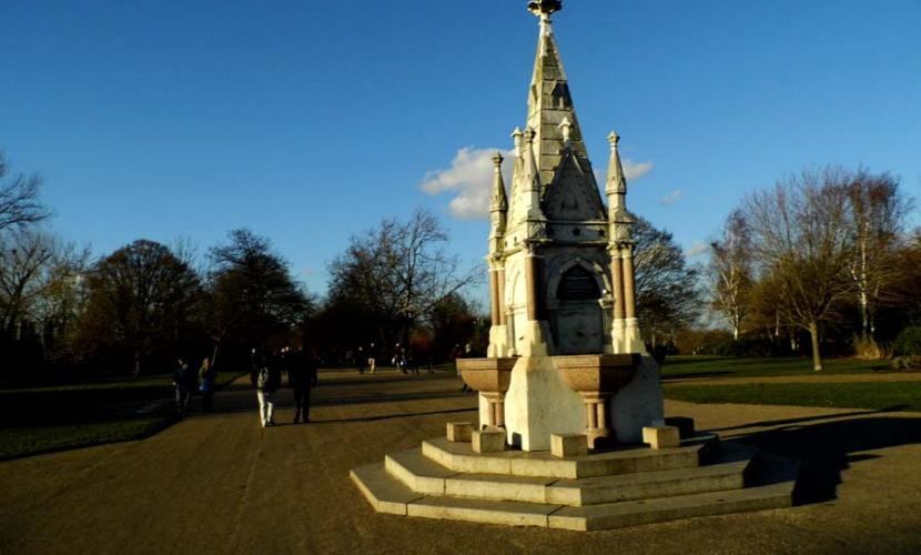 Monuments in Regent's Park