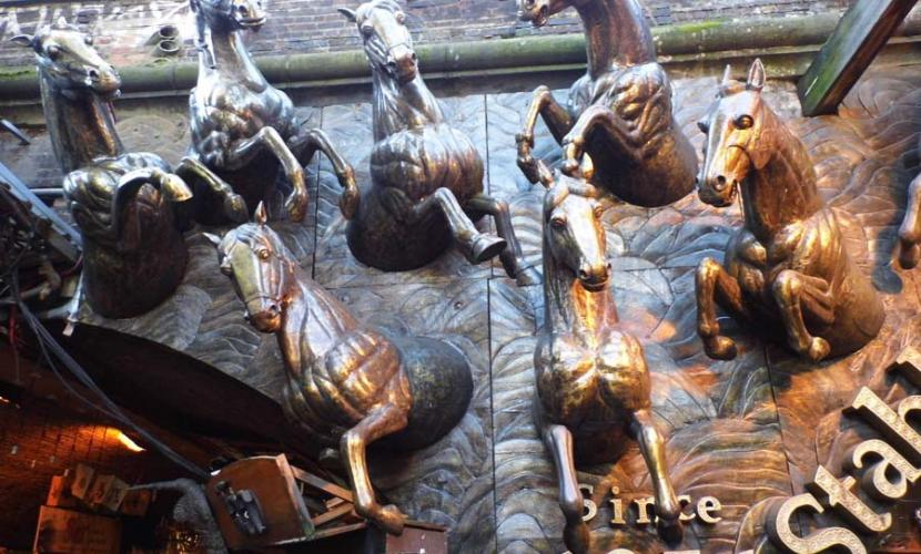 Stables Market has many attractions