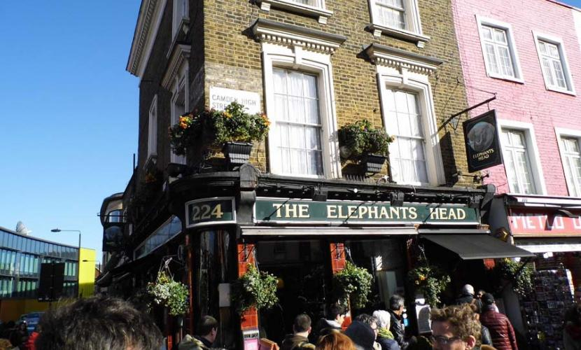 The Elephant Head near Camden Lock